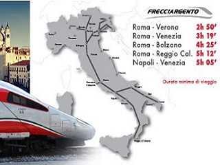 Frecciargento Italien Schnellzüge Italienischer Schnellzug