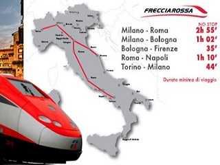 Frecciarossa Hochgeschwindigkeitszug Italien Italienischer